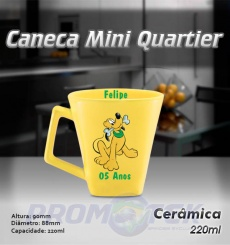 Caneca Mini Quartier 220 ml