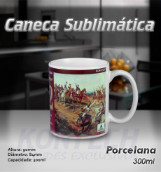 Caneca Sublimática Evento 300 ml