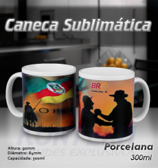 Caneca Sublimática Corporativa 300 ml