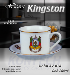 Xícara Chá Kingston 200 ml