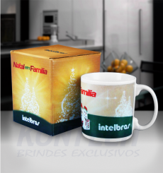 Caneca Chocolate 300 ml Intelbras